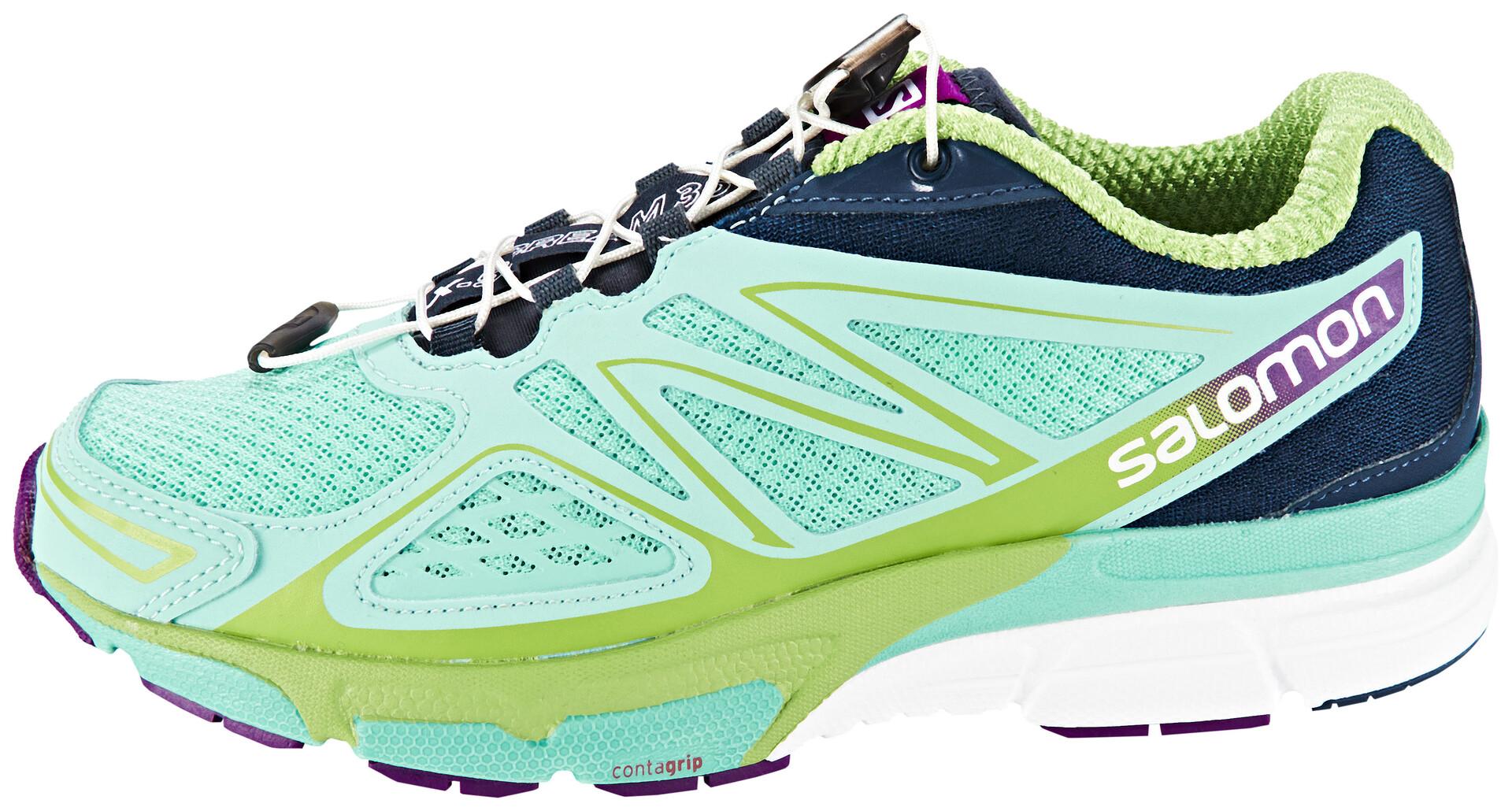 Sur Chaussures Salomon Turquoise Running Scream Femme Campz 3d X qFw0Ut